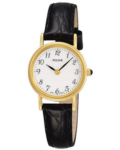 Womens Pulsar  Classic gold plated PTA514X1 Watch