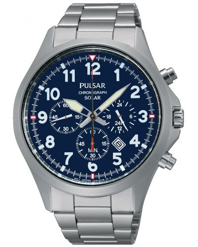 Mens Pulsar  Sports stainless steel chronograph PX5001X1 Watch