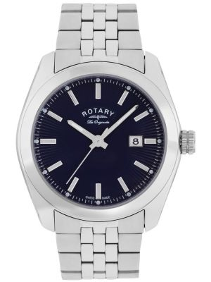 Mens Rotary Lausanne stainless steel GB90110/05 Watch