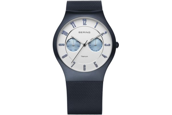Mens Bering Titanium Watch 11939-394