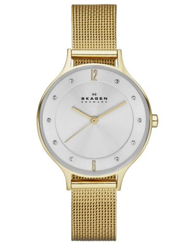 Womens Skagen Anita refined gold plated SKW2150 Watch