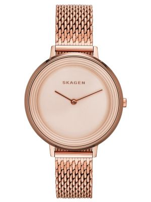 Womens Skagen Ditte refined rose gold SKW2334 Watch