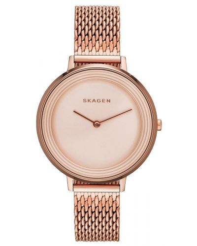 Womens Skagen Ditte refined rose gold SKW2334 Watch