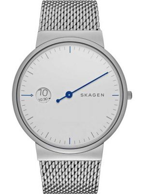 Mens Skagen Ancher mono stainless steel milanese SKW6193 Watch