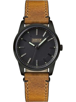 Mens Barbour Jarrow classic tan leather strap bb026bktn Watch