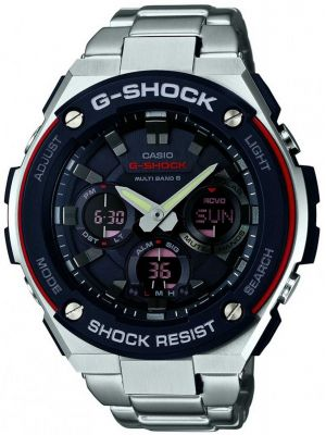 Mens Casio G Shock stainless steel GST-W100D-1A4ER Watch