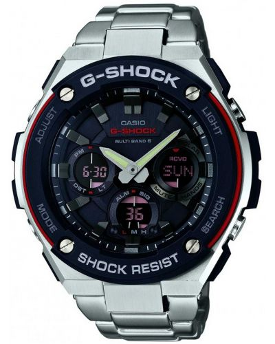 Mens Casio G Shock stainless steel GST-W100D-1A4ER Watch