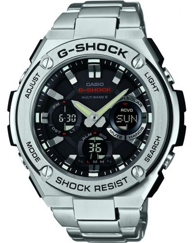 Mens Casio G Shock steel GST-W110D-1AER Watch