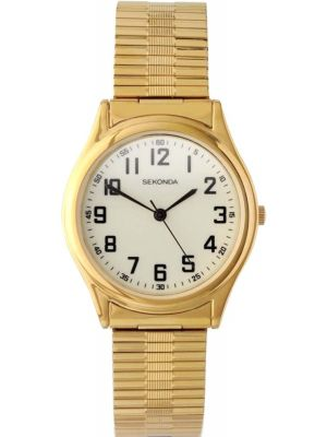 Mens Sekonda classic gold plated 3244.00 Watch