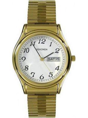 Mens Sekonda classic gold plated expander 3924.00 Watch