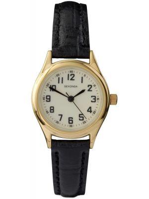 Womens Sekonda classic thin leather strap 4243.00 Watch