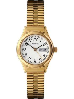 Womens Sekonda gold plated expander 4924.00 Watch
