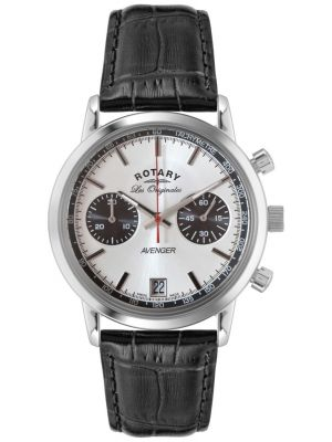 Mens Rotary Avenger stainless steel GS90130/06 Watch