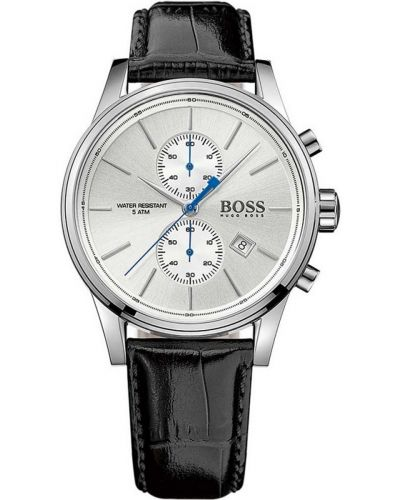 Mens Hugo Boss Jet classic leather strap 1513282 Watch