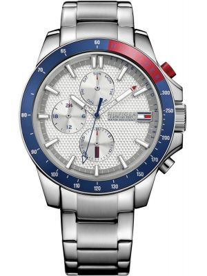 Mens Tommy Hilfiger Jace large stainless steel sports 1791166 Watch
