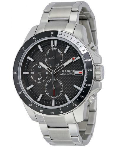 Mens Tommy Hilfiger Jace large stainless steel sports 1791165 Watch