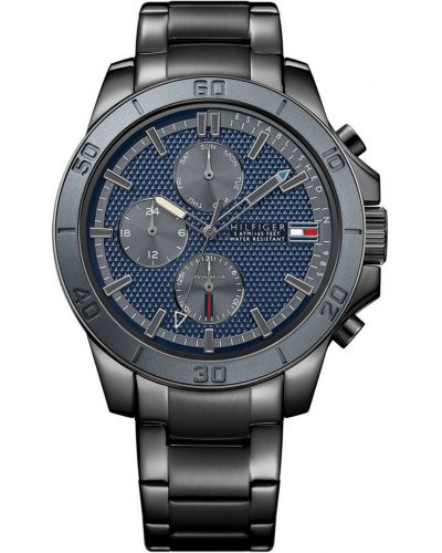 Mens Tommy Hilfiger Jace black ion plated steel  1791167 Watch