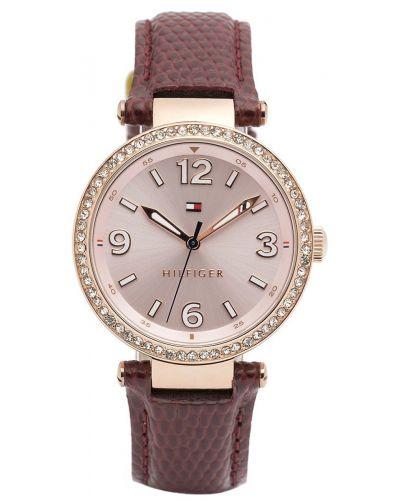 Womens Tommy Hilfiger Lynn rose gold crystal set dress 1781588 Watch
