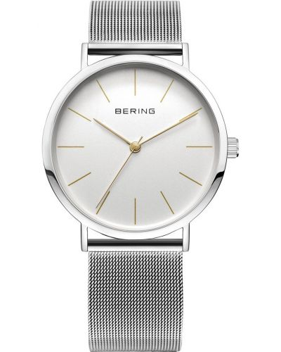 Womens Bering Classic stainless steel milanese strap 13436-001 Watch