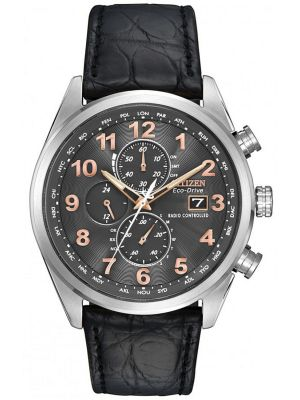 Mens Citizen World Time A-T stainless steel  AT8031-07H Watch