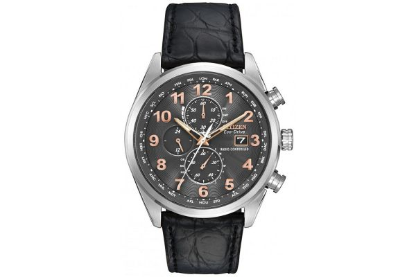 Mens Citizen World Time A-T Watch AT8031-07H