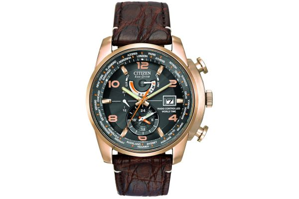 Mens Citizen World Time A-T Watch AT9013-11E
