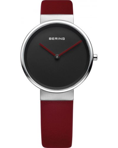 Womens Bering Classic red calfskin leather strap 14531-642 Watch
