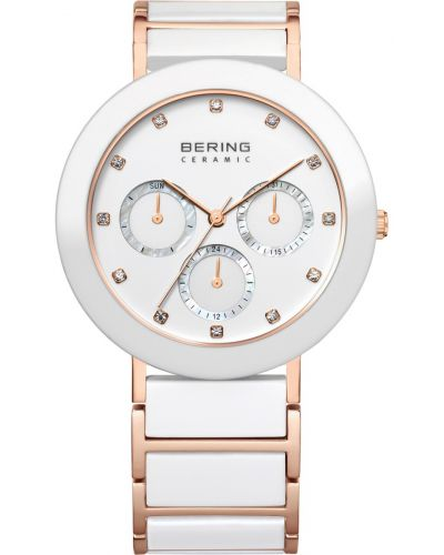 Womens Bering Ceramic white rose gold plated 11438-766 Watch