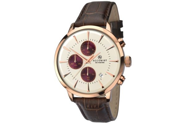 Mens Accurist Chronograph Watch 7034.00
