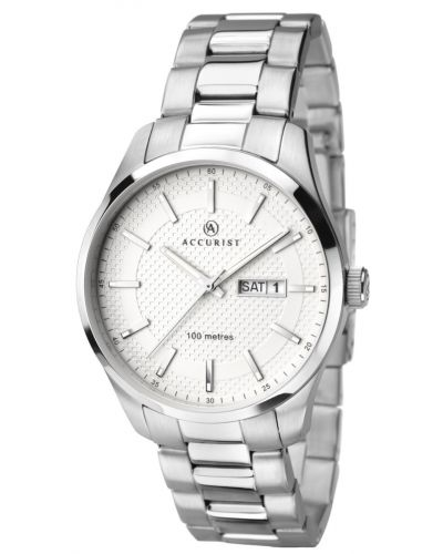 Mens Accurist Classic stainless steel 7056.00 Watch