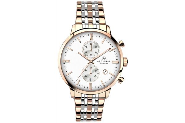 Mens Accurist Chronograph Watch 7083.00