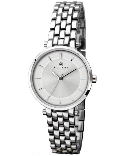 Womens Accurist Classic polished stainless steel 8006.00 Watch