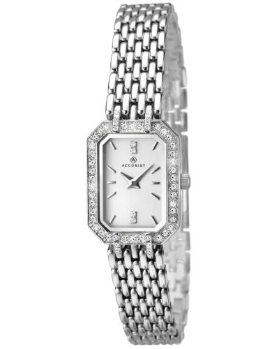 Womens Accurist Classic stainless steel crystal set 8061.00 Watch