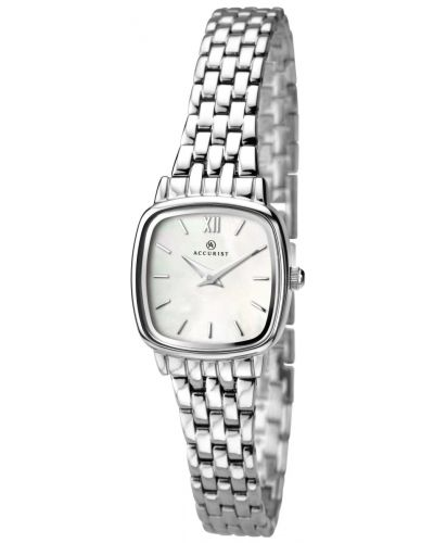 Womens Accurist Classic polished stainless steel 8067.00 Watch