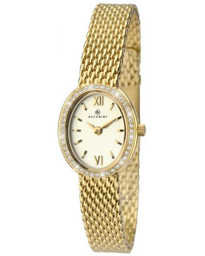 Womens Accurist Classic Crystal set oval 8069.00 Watch