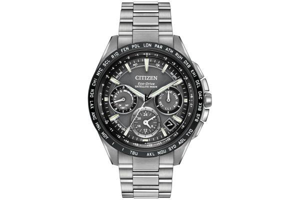 Mens Citizen Satellite Wave Watch CC9015-71E