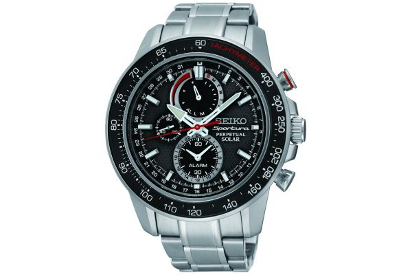 Mens Seiko Sportura Watch SSC357P1