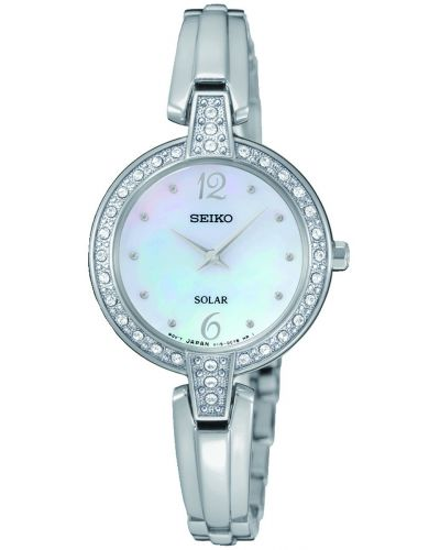 Womens Seiko Solar crystal set SUP287P9 Watch