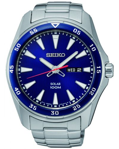 Mens Seiko Solar stainless steel SNE391P1 Watch