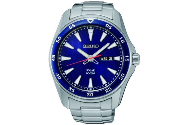 Mens Seiko Solar Watch SNE391P1