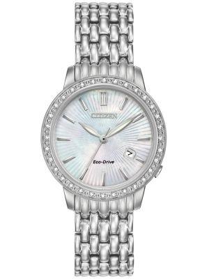 Womens Citizen Silhouette stainless steel dress EW2280-58D Watch
