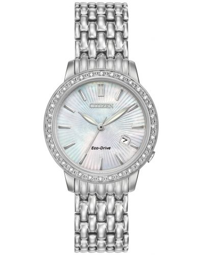 Womens Citizen Silhouette stainless steel dress EW2280-58D Watch