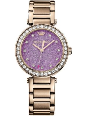 Womens Juicy Couture Daydreamer designer rose gold plated 1901329 Watch