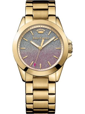Womens Juicy Couture Malibu gold plated designer 1901285 Watch