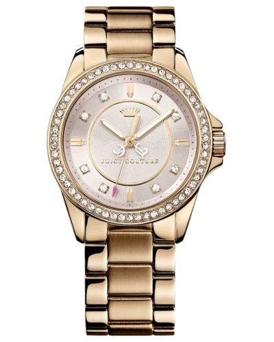 Womens Juicy Couture Stella rose gold plated 1901077 Watch