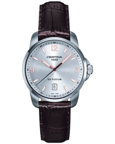 Mens Certina DS Podium classic stainless steel C0014101603701 Watch