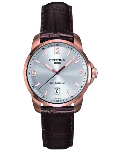 Mens Certina DS Podium rose gold classic C0014103603701 Watch