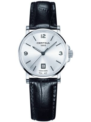 Womens Certina DS Caimano classic leather strap C0172101603700 Watch