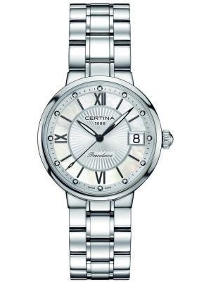 Womens Certina DS Stella stainless steel dress C0312101111600 Watch