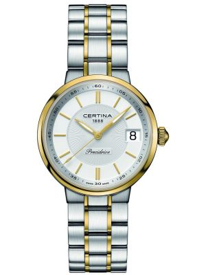Womens Certina DS Stella two toned gold plated C0312102203100 Watch